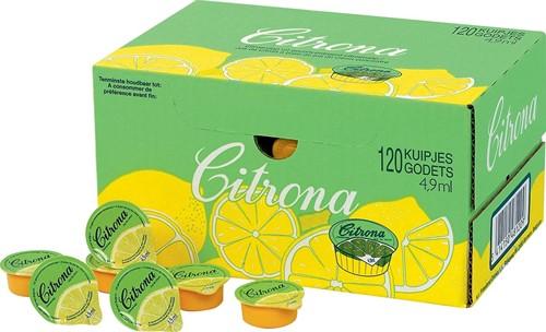 Citrona citroensap, pak van 120 cups van 4,9 ml-2