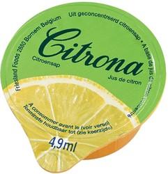 Citrona citroensap, pak van 120 cups van 4,9 ml