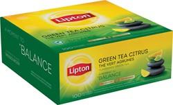 Lipton thee, Green Tea Citrus, pak van 100 zakjes