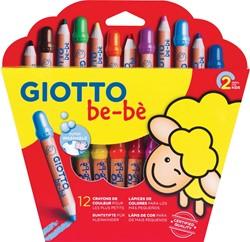 Giotto be-bè kleurpotlood Maxi 12 potloden