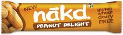 Nakd Peanuts Delight, reep van 35 gr, pak van 18 stuks
