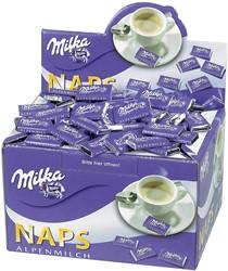 Milka melkchocolade, doos van 370 stuks