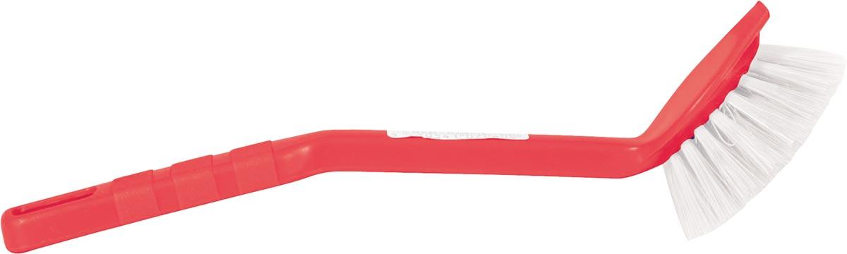 Afwasborstel uit plastic, geassorteerde kleuren