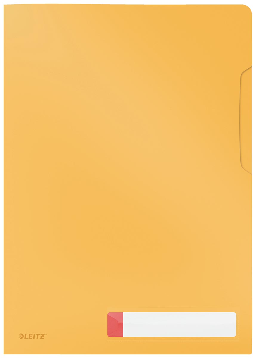 Leitz Cosy L-map, ft A4, PP van 200 micron, ondoorzichtig, geel