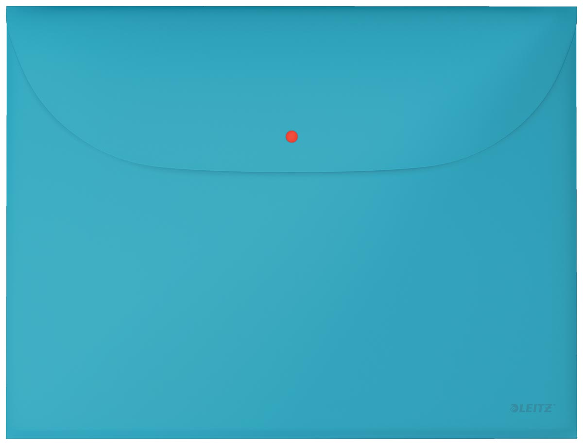 Leitz Cosy projectomslag A4, 2 compartimenten, uit PP, blauw