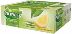 Pickwick thee, green tea lemon, pak van 100 stuks