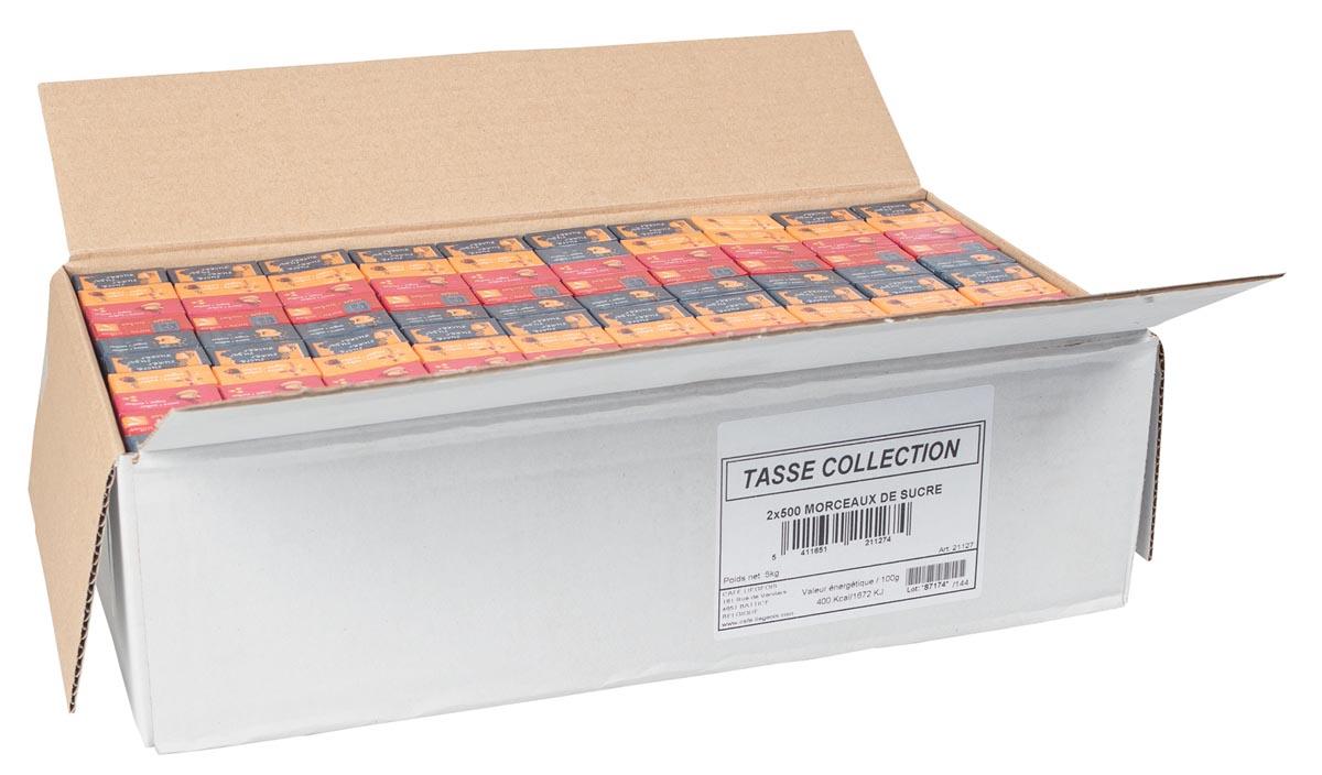 Suikerklontjes, 5 g, doos van 1000 stuks-2