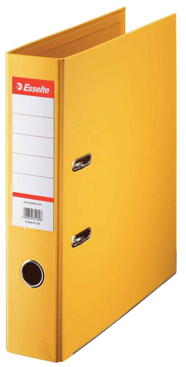 Esselte ordner Power N°1 geel, rug van 7,5 cm