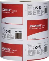 Katrin handdoeken voor dispenser op rol, 2-laags, 152 m, pak van 6 rollen