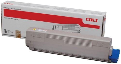 Oki Toner Kit geel - 7300 pagina's - 44844613