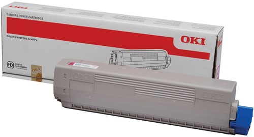 Oki Toner Kit magenta - 7300 pagina's - 44844614