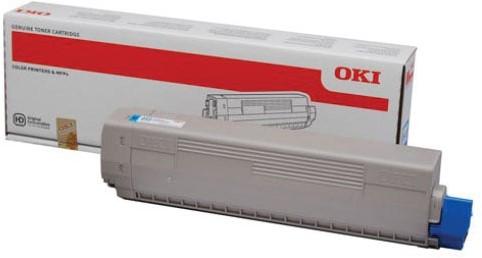 Oki Toner Kit cyaan - 7300 pagina's - 44844615