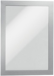 Durable Duraframe ft 14,8 x 21 cm (A5), zilver, 2 stuks