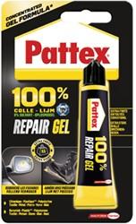 Pattex multilijm 100 % Repair Gel, tube van 20 g, op blister