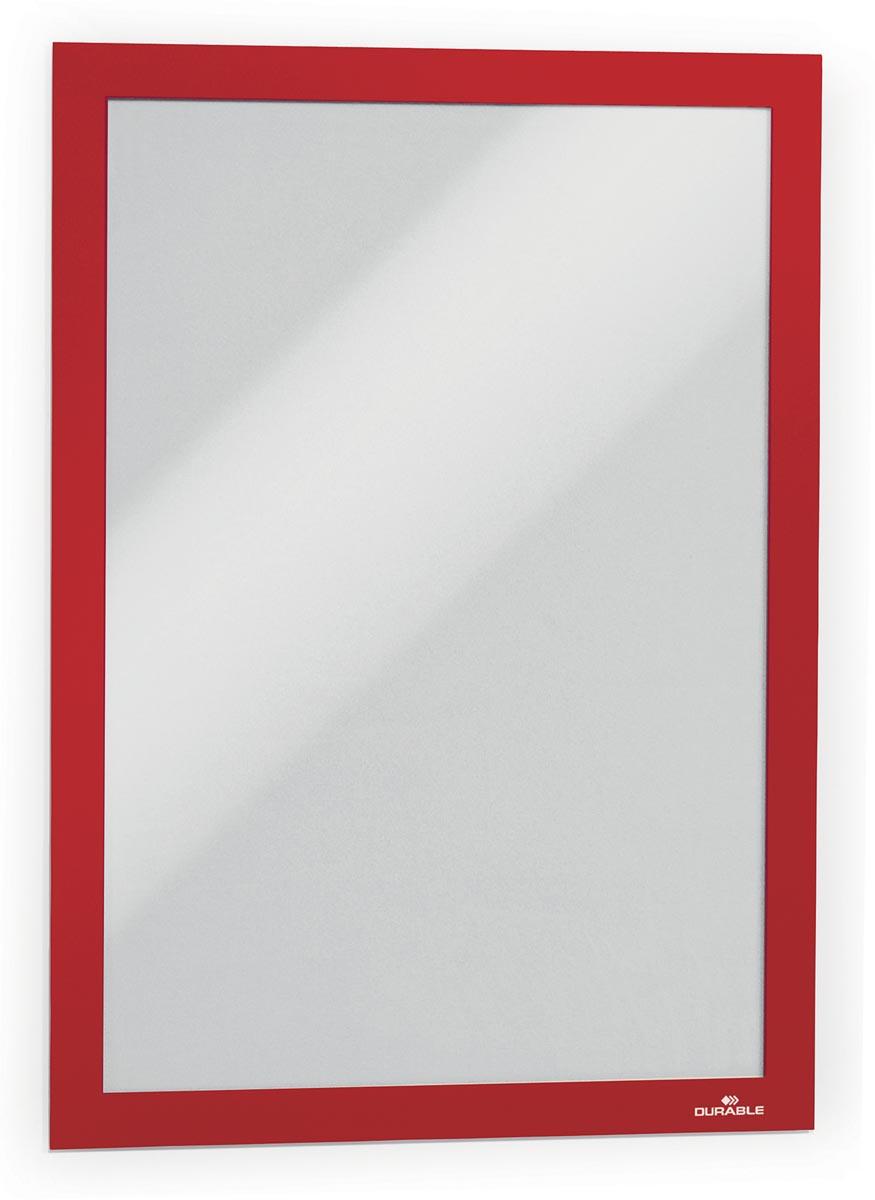 Durable Duraframe A4 rood, in ophangbare etui