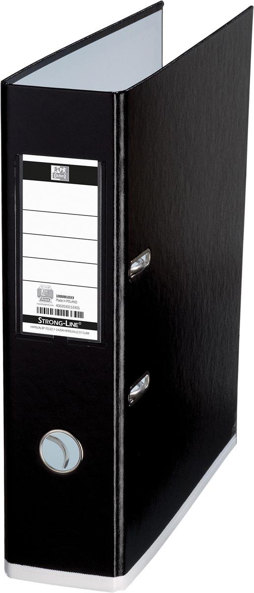 OXFORD MyColour ordner, formaat A4, uit karton, rug van 8 cm, zwart-wit