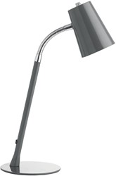 Unilux LED bureaulamp Flexio 2.0, grijs