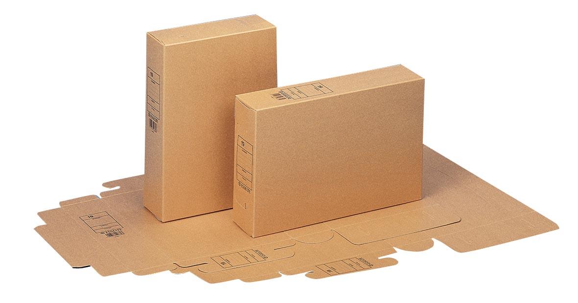 Esselte Archiefdoos 4968000 Bruin Karton