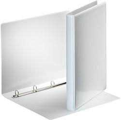 Esselte personaliseerbare ringmap, rug van 3 cm, 4 O-ringen van 16 mm, wit