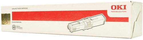 Oki Toner Kit cyaan - 1500 pagina's - 44973535