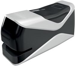 Rapid elektrische nietmachine, 10 mm inlegdiepte voor 24/6 en 26/6 nietjes, zwart