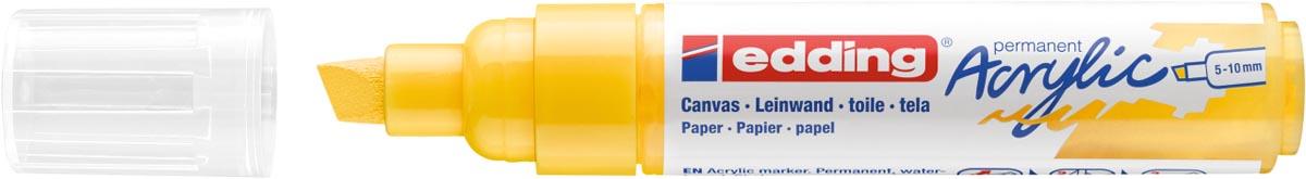 Edding Acrylic marker breed verkeersgeel