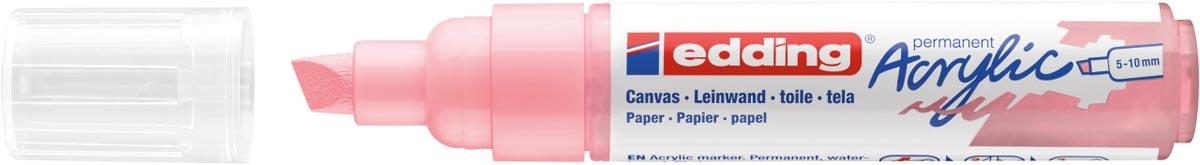 Edding Acrylic marker breed stijlvol mauve