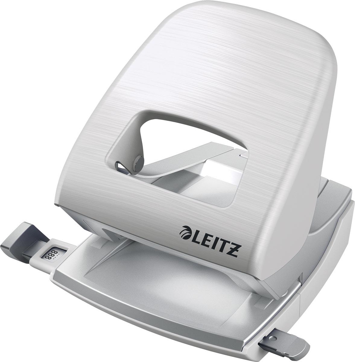 Leitz Style perforator, 30 blad, wit