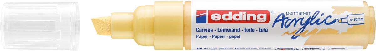 Edding Acrylic marker breed pastelgeel
