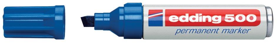 Edding permanente marker e-500 blauw