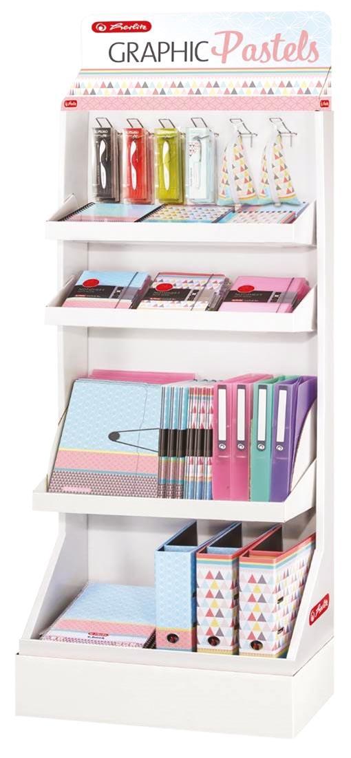 Pelikan Graphic Pastels display, assortiment met 95 stuks