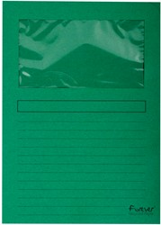 Exacompta L-map Forever, voor ft A4, pak van 100 stuks, donkergroen
