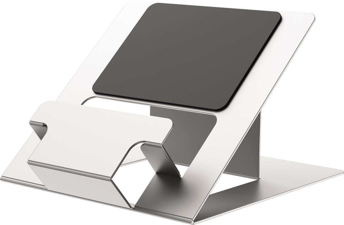 Fellowes Hylyft laptopstandaard, zilver