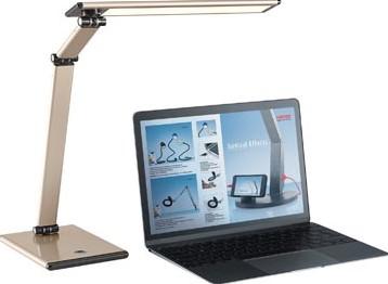 Zelfklevende Led Lampen : Hansa bureaulamp slim led lamp goud bij vindiq office