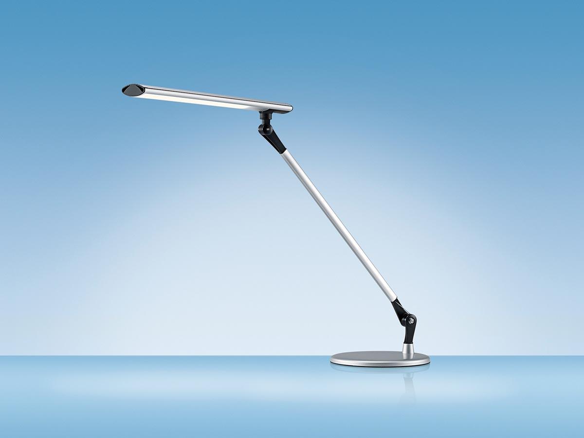 Hansa bureaulamp Delight, LED-lamp, aluminium