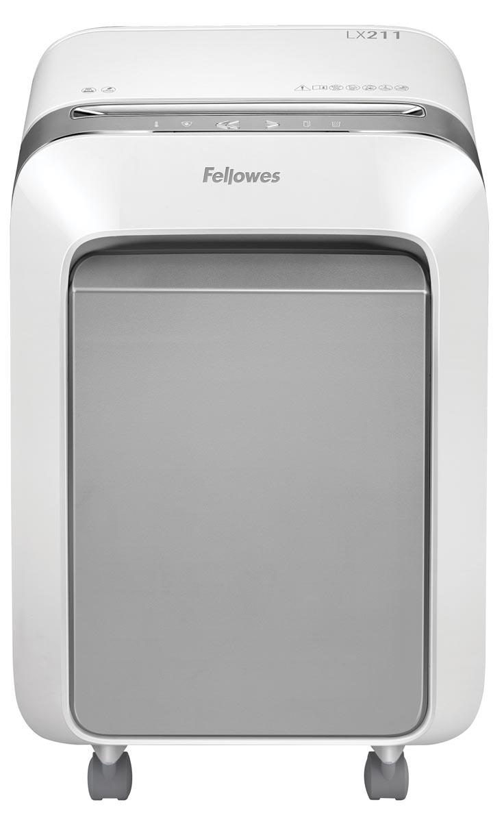 Fellowes Microshred papiervernietiger LX211, wit