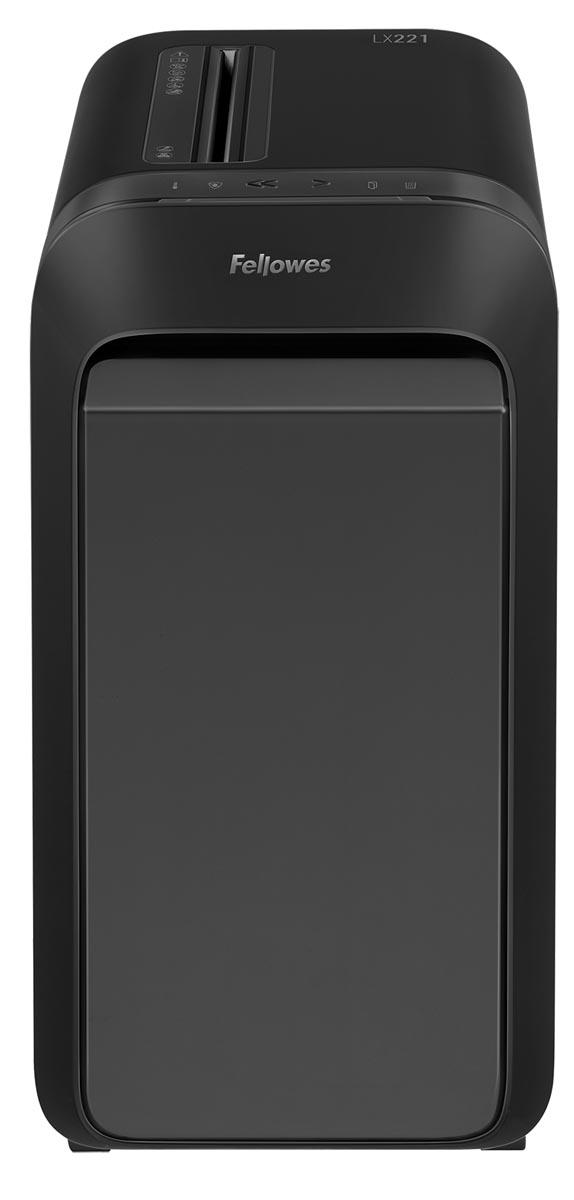 Fellowes Microshred papiervernietiger LX221, zwart