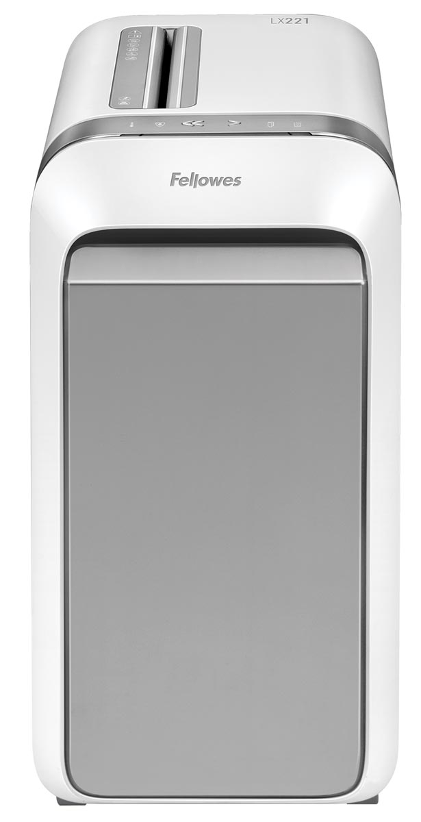 Fellowes Microshred papiervernietiger LX221, wit