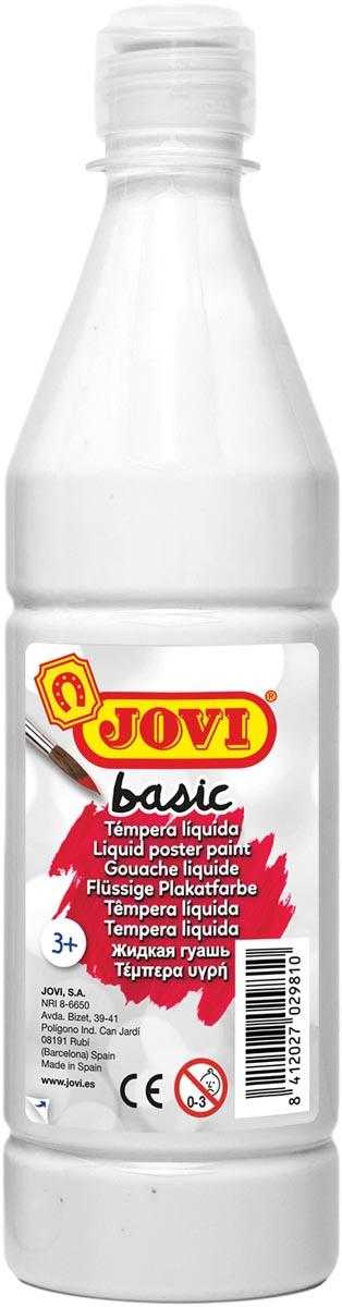Jovi plakkaatverf, fles van 500 ml, wit