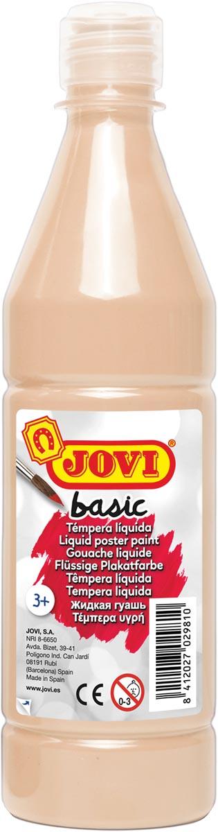 Jovi plakkaatverf, fles van 500 ml, vleeskleur