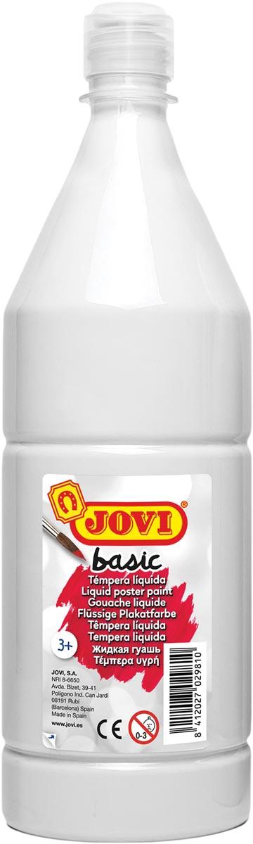 Jovi plakkaatverf, fles van 1000 ml, wit