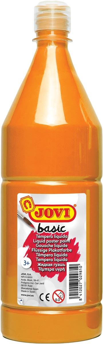 Jovi plakkaatverf, fles van 1000 ml, oranje