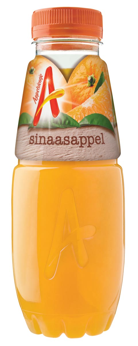 Appelsientje sinaasappelsap, flesje van 400 ml, pak van 12 stuks