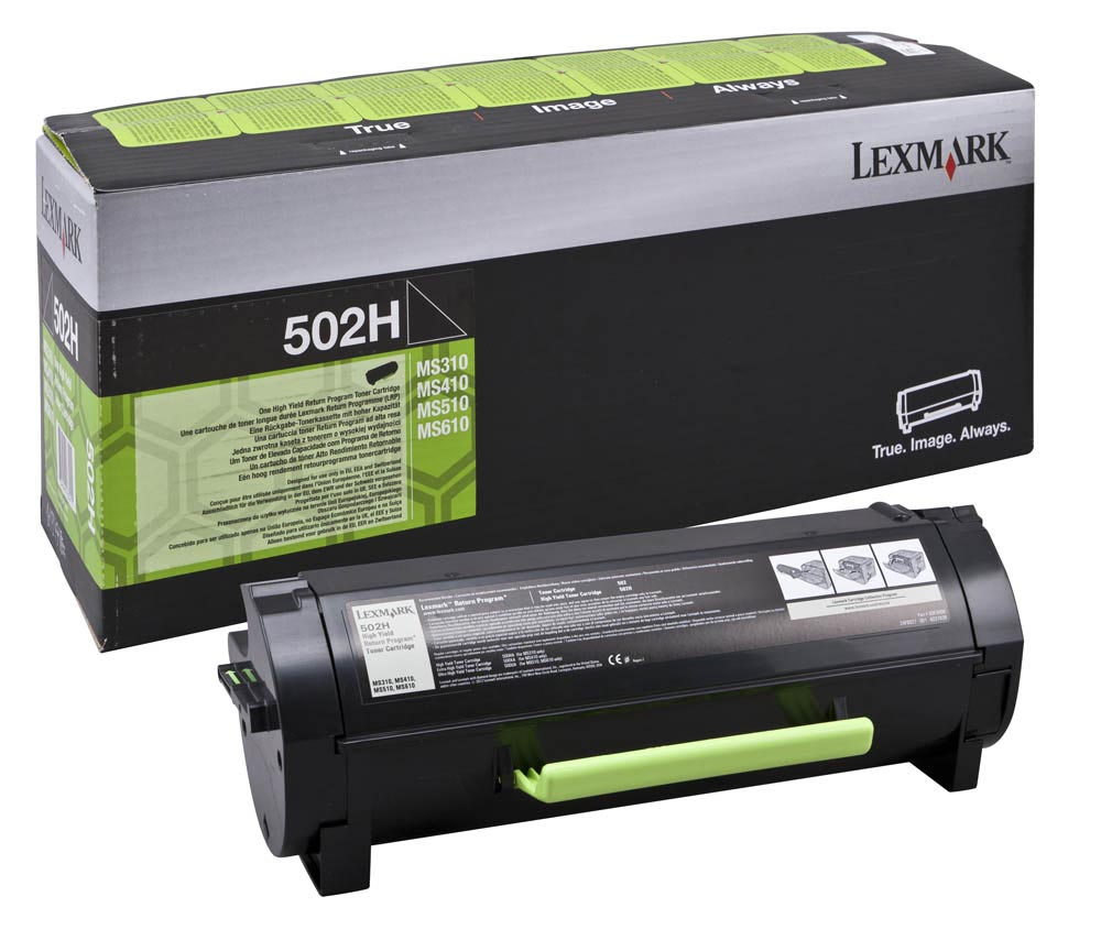 Lexmark Toner Kit zwart return program 502H - 5000 pagina's - 50F2H00