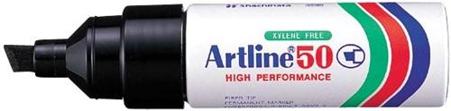 Permanent marker Artline 50 zwart
