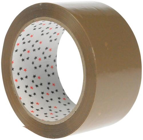 5 Star verpakkingsplakband ft 50 mm x 66 m, bruin-2