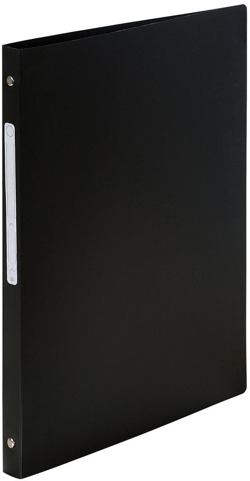 Exacompta ringmap ondoorschijnend ft A4, 4 ringen van 1,5 cm, zwart
