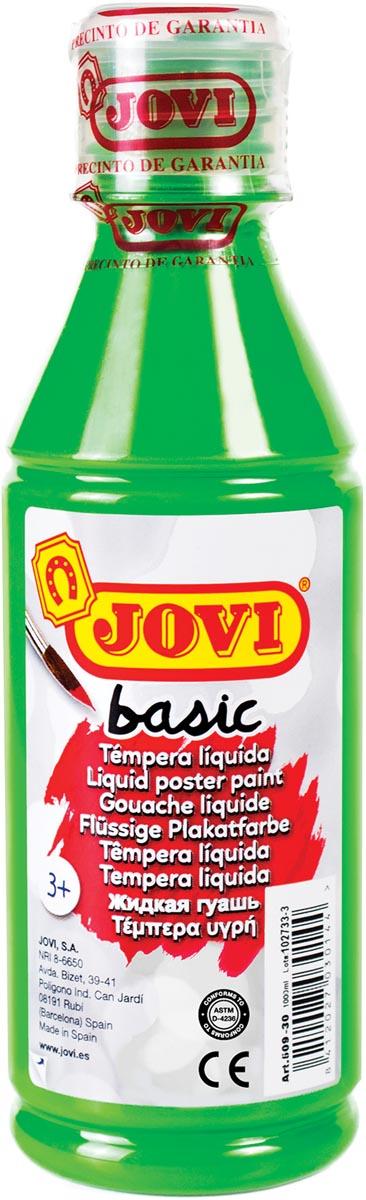 Jovi plakkaatverf, fles van 250 ml, lichtgroen