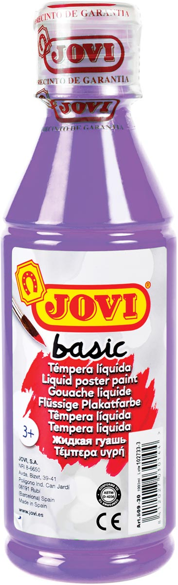 Jovi plakkaatverf, fles van 250 ml, violet