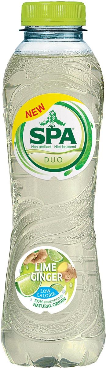 Spa Duo limonade limoen-gember, fles van 50 cl, pak van 24 stuks